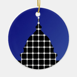 Support Open Source Candidates Ceramic Ornament