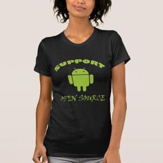 Support Open Source Robot T Shirt