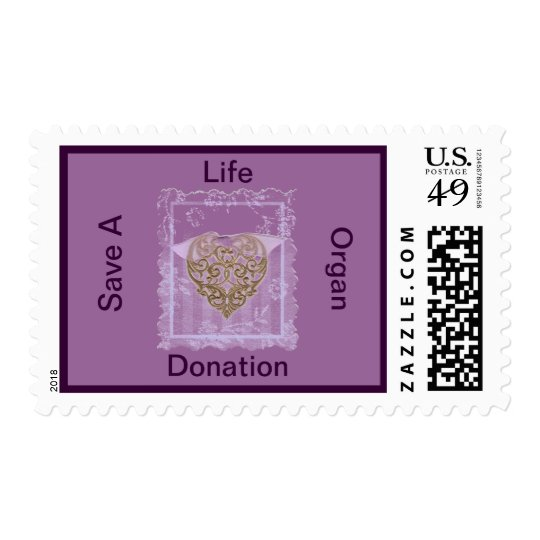 Support Organ Donation Postage