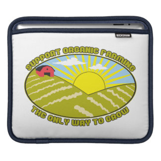 Support Organic Farming Sleeves For iPads