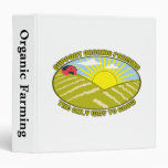 Support Organic Farming Vinyl Binder