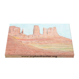 Support Orphan Frontier Canvas Print