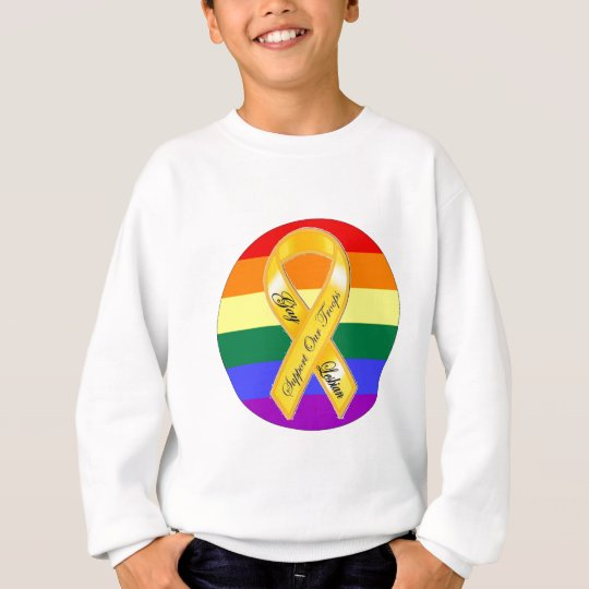 Support Our Gay and Lesbian Troops! Sweatshirt
