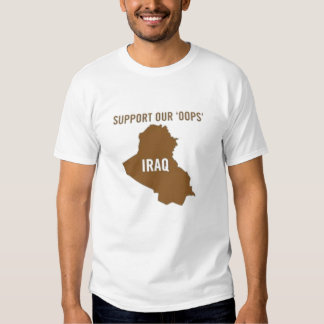 Support Our Oops T-shirt