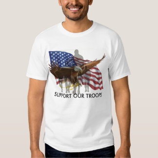SUPPORT OUR TROOP, SUPPORT OUR TROOPS T-Shirt