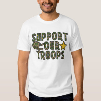 Support Our Troops #1 Tee Shirt