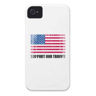 Support our troops (2) Faded.png iPhone 4 Cases