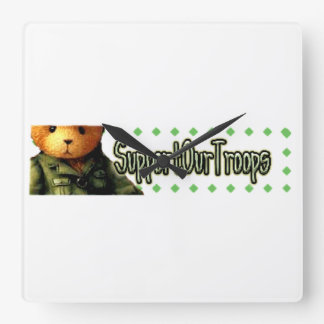 Support Our Troops 2 Wall Clocks