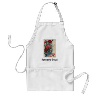 Support Our Troops! Adult Apron