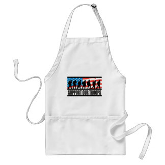 Support Our Troops Aprons