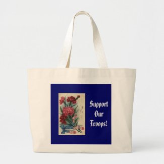 Support Our Troops! bag