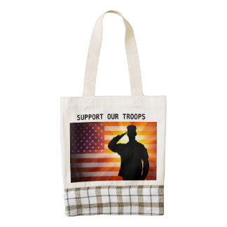 SUPPORT OUR TROOPS BAG