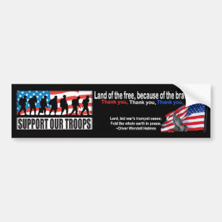 Support Our Troops - Bumper Stickers