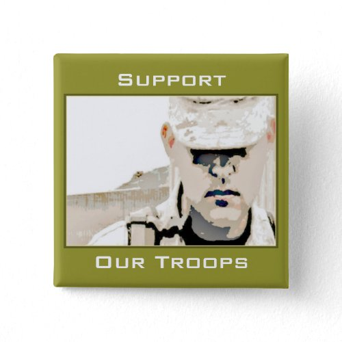 Support Our Troops Button button