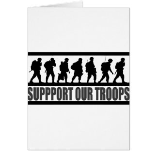 Support our Troops Cards