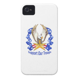 SUPPORT OUR TROOPS Case-Mate iPhone 4 CASE