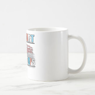 SUPPORT OUR TROOPS COFFEE MUG