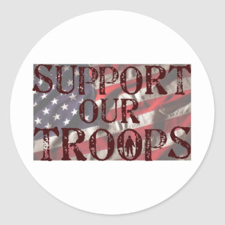 support our troops copy sticker