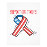 Support Our Troops Custom Flyer
