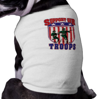 Support Our Troops Doggie Tee Shirt