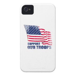 Support our troops Faded.png iPhone 4 Case-Mate Cases