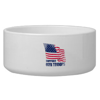 Support our troops Faded.png Pet Bowls