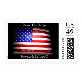 Support Our Troops II Stamp