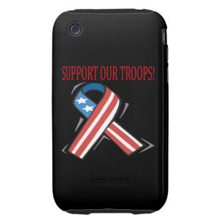 Support Our Troops iPhone 3 Tough Cover