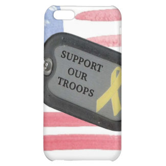 Support Our Troops iPhone 5C Covers