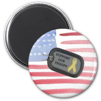 Support Our Troops Fridge Magnet