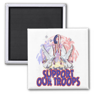 """""""Support Our Troops"""" Magnet"""