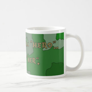 Support Our Troops Military Awesome Hero Her Mug