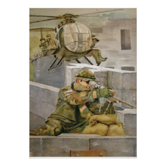 Support Our Troops Military Poster Special Forces