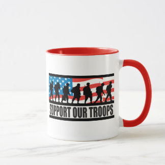 Support Our Troops Mug