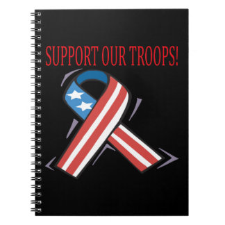 Support Our Troops Notebooks