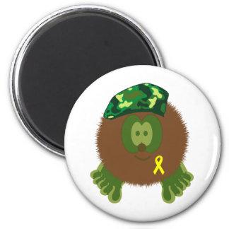 Support Our Troops Pom Pom Pal Magnet