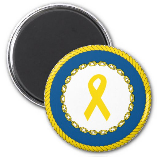 Support Our Troops Ribbon Magnets