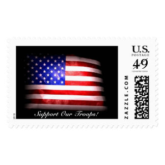 Support Our Troops Stamp