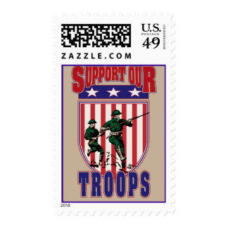 Support Our Troops Stamps
