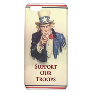 Support Our Troops Uncle Sam Poster iPhone 5C Covers