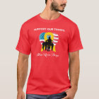 Support Our Troops Wear Red on Fridays T-Shirt