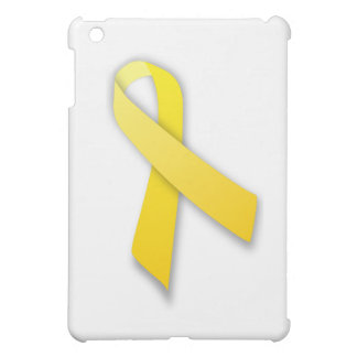 Support Our Troops Yellow Awareness Ribbon iPad Mini Cover