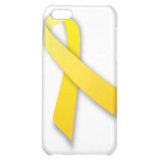 Support Our Troops Yellow Awareness Ribbon iPhone 5C Cover