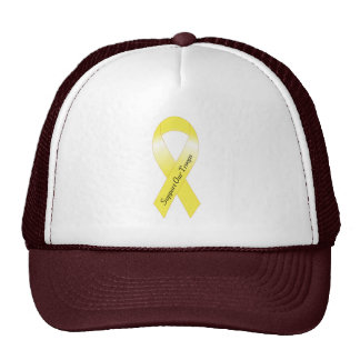 Support our Troops - Yellow Ribbon Hat