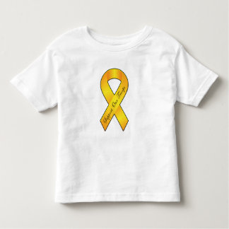 Support Our Troops - Yellow Ribbon Toddler T-shirt