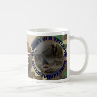 Support our veteran… the USA Classic White Coffee Mug