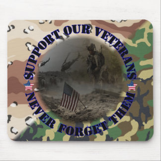 Support our Veterans USA Mousepad