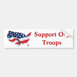 Support OurTroops Bumper Sticker