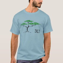 Support Parkinson's Research, 3LT Logo Front T-Shirt