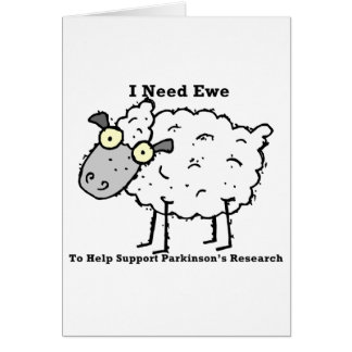 Support Parkinson's Research Card